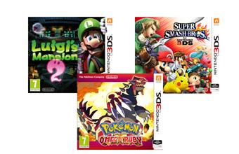 Nintendo 3DS/2DS új játékok