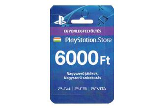 PS4 feltöltőkártyák
