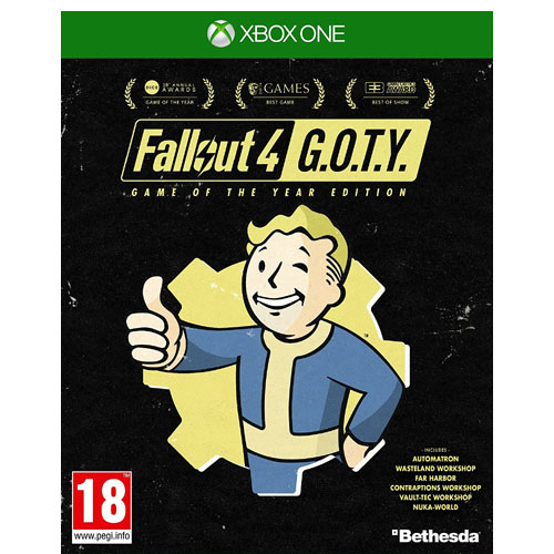 fallout 4 game of the year edition xbox one konzolgame. Black Bedroom Furniture Sets. Home Design Ideas