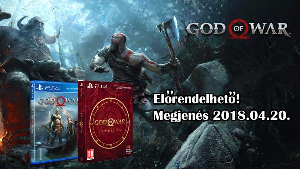God of War előrendelés