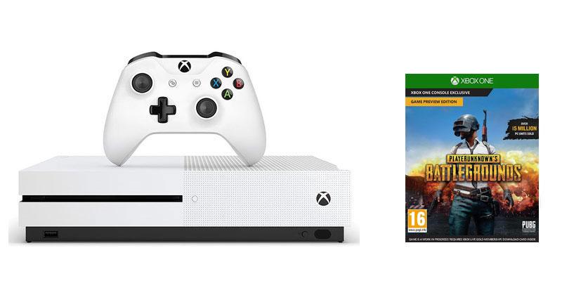 Microsoft Xbox One S (Slim) 1 TB + Playerunknown's