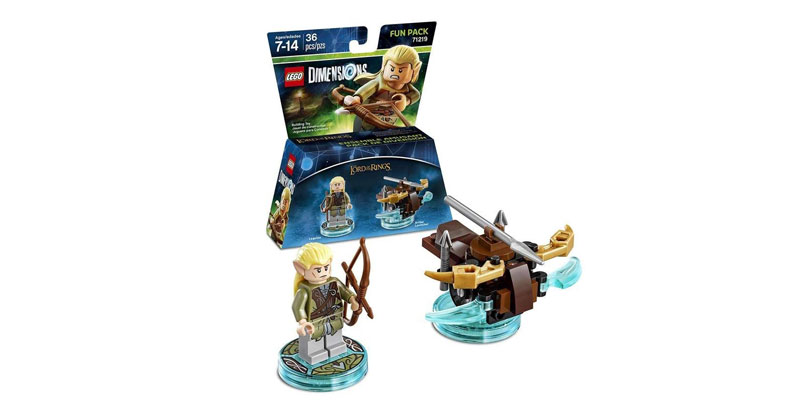 LEGO Dimensions The Lord of The Rings Legolas Fun Pack ...